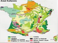 Fransa Arazi Kullanım Haritası