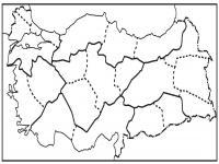 Boş Bölgeler Haritası - 1