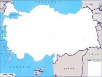 Boş Türkiye Haritası - 2