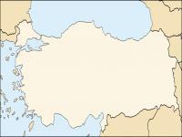 Boş Türkiye Haritası - 4