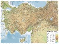 Türkiye Fiziki Haritası - 1