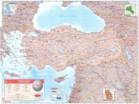 Türkiye Fiziki Haritası - 2