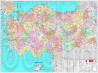 Türkiye Siyasi Haritası - 1
