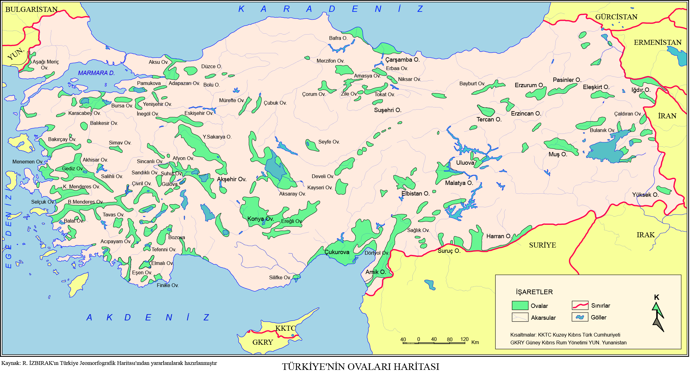 türkiye haritası bölgeler çizim