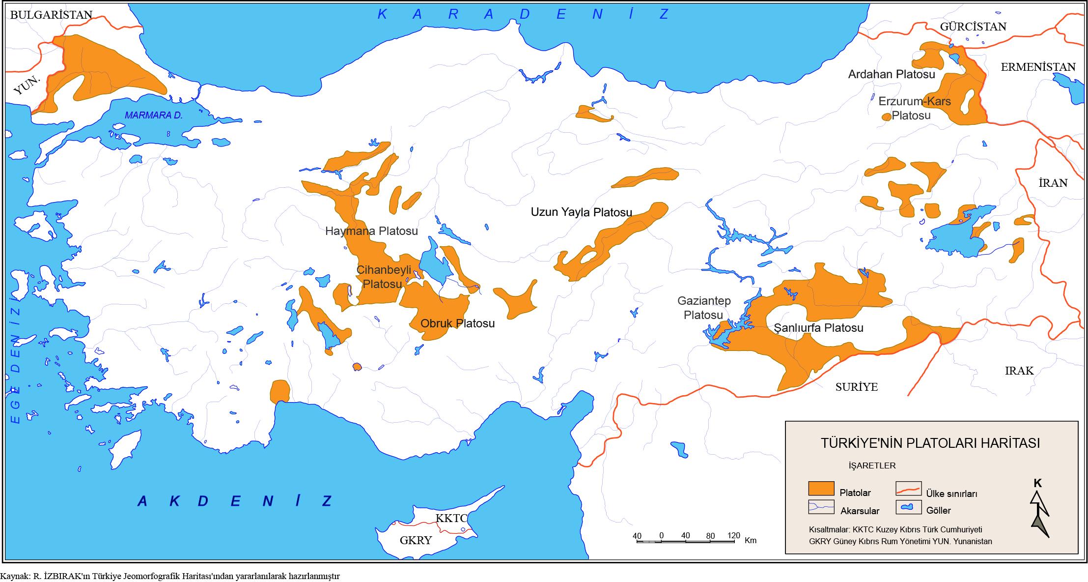 Türkiye'nin Platoları