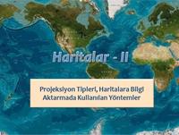 Haritalar 2 (Sunum) Sunusu