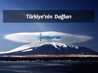 Türkiye'nin Dağları (Sunum)