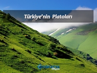 Türkiye'nin Platoları (Sunum) Sunusu