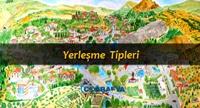 Türkiye'de Yerleşme Tipleri (Sunum)