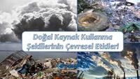 Doğal Kaynak Kullanımının Çevresel Etkileri (Sunum)